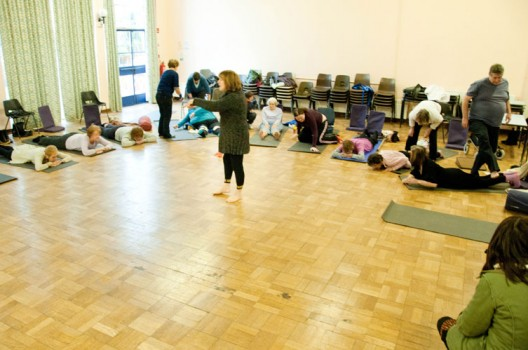 Funding relieved yoga group's money worries
