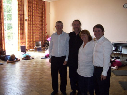 Cardiff West MP and AM join Yoga Mobility for a morning